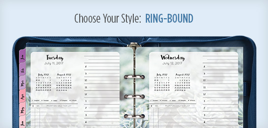 Choose Your Style: Ring-bound