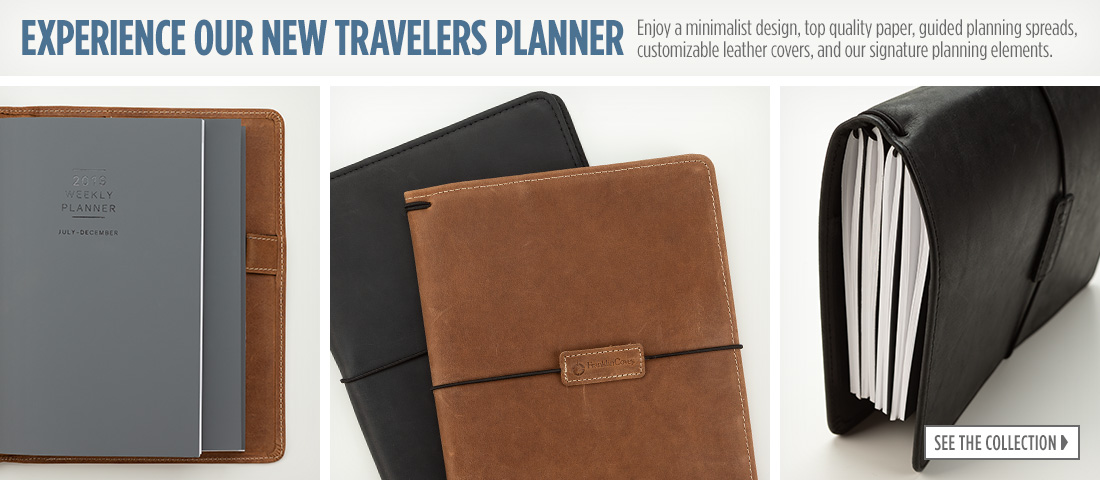 Experience Our New Travelers Planner