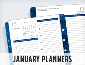 January planners