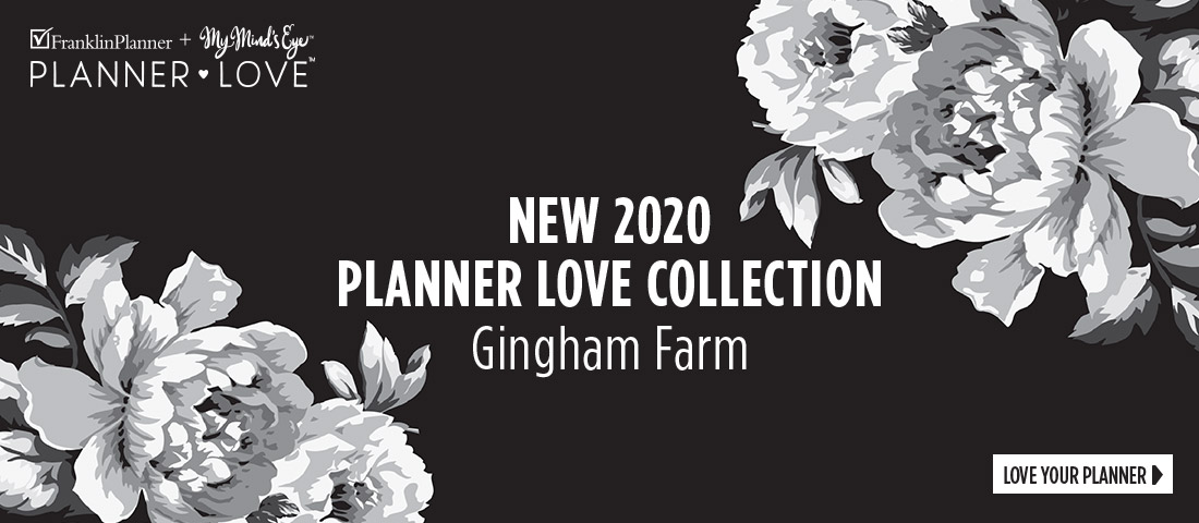 Shop New 2020 Planner Love Collection Gingham Farm