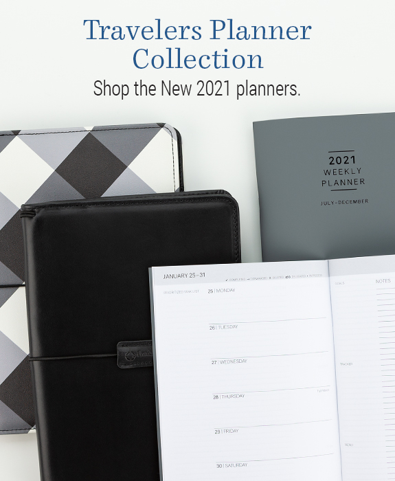 Travelers Planner Collection. Shop the new 2021 planners.