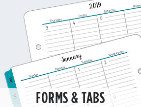 Forms and Tabs