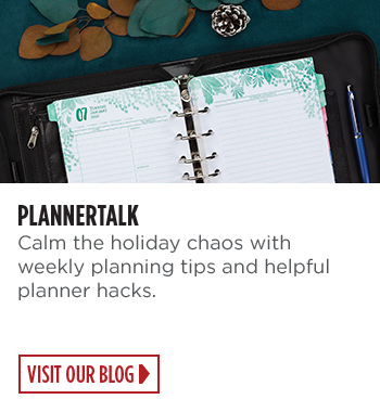 PlannerTalk - Holiday planning tips and planner hacks