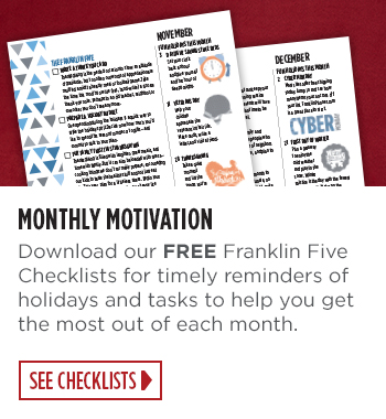 Download Free FranklinFive Checklists