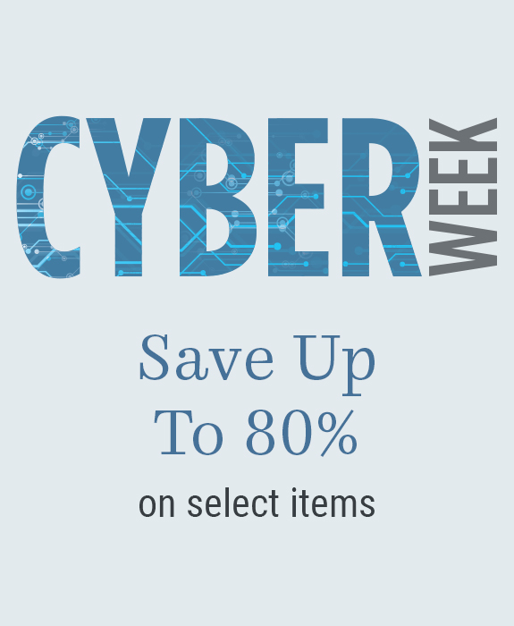 Cyber Week  Deals - Save up to 80& on select items
