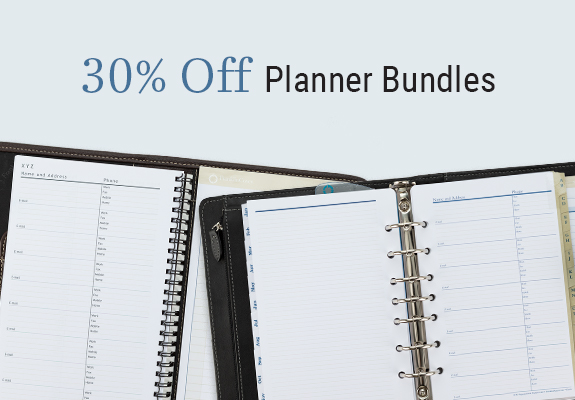 30% off Planner  Bundles