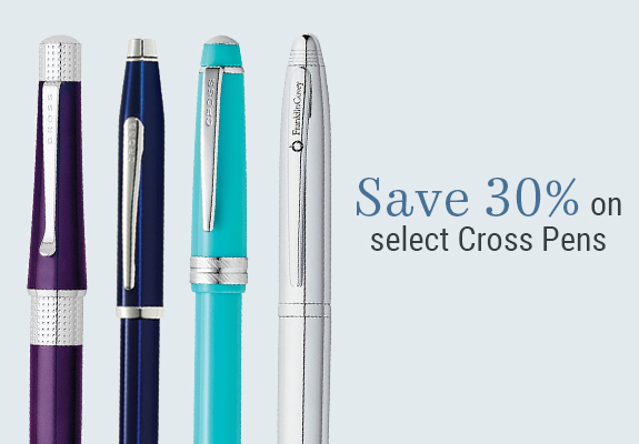 30% off select Cross Pens