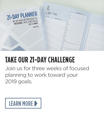 Take Our 21 Day Challenge
