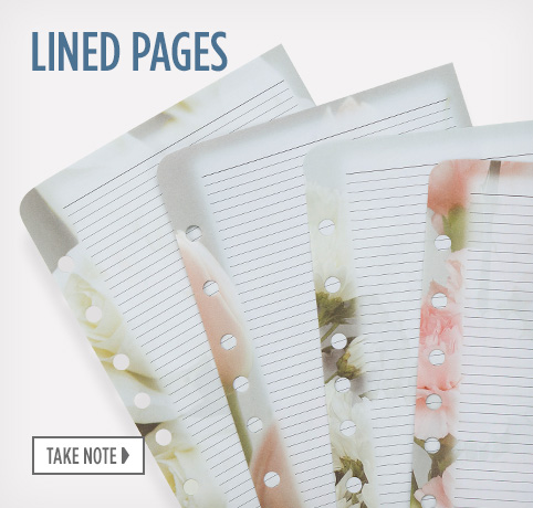 Shop Lined Pages