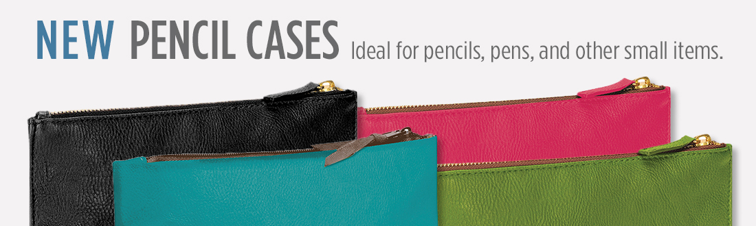 New pencil cases ideal for small items