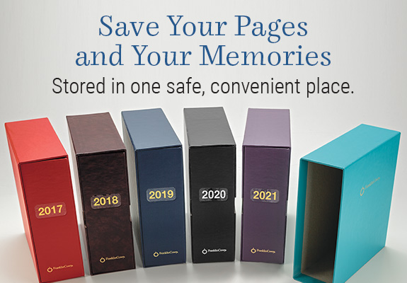 Shop storage and keep your pages and your memories safe.
