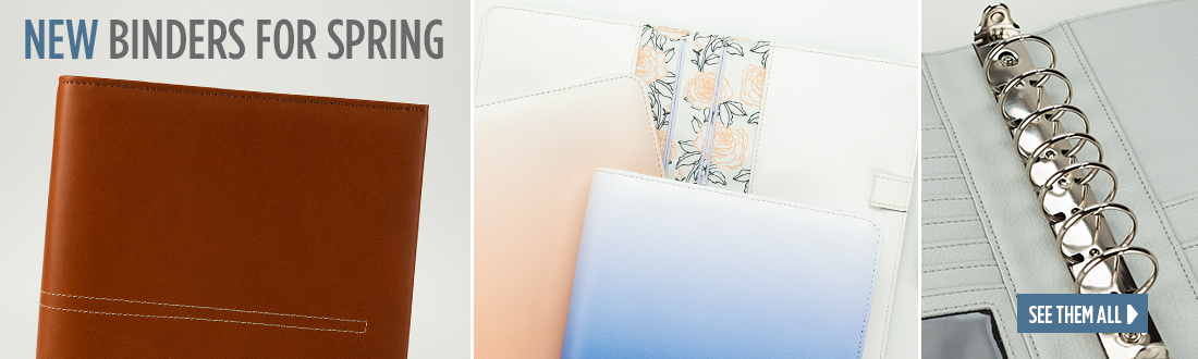 New Binders For Spring - See Them All