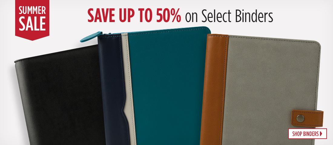 Summer Sale Binders