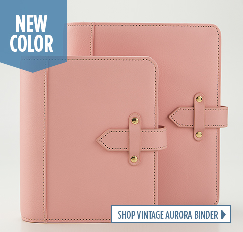 Shop Vintage Aurora Binder