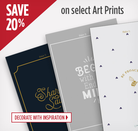 Save up to 20 Percent on Select Art Prints