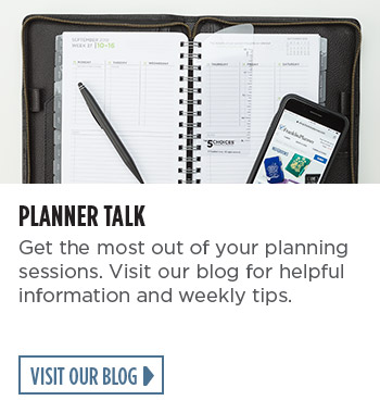 Planner Talk - Get the most out of your planning sessions. Visit our blog