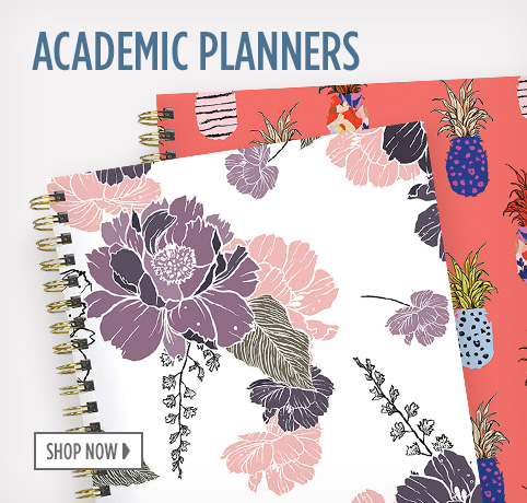 Shop Academic Planners