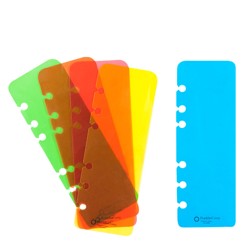 Compact Ring-bound Pagefinder Multi-Color Pack