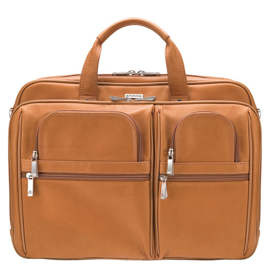 Jeremy Laptop Bag - Tan