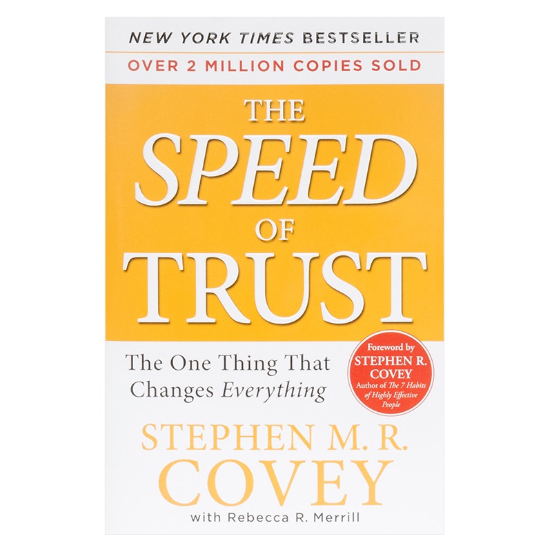 The Speed of Trust - Softcover