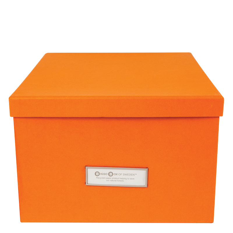 Gustav Classic CD/DVD/Video Box - Orange