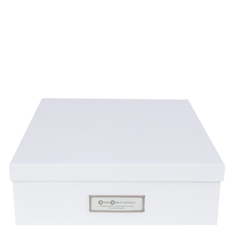 Oskar Classic Document Box - White