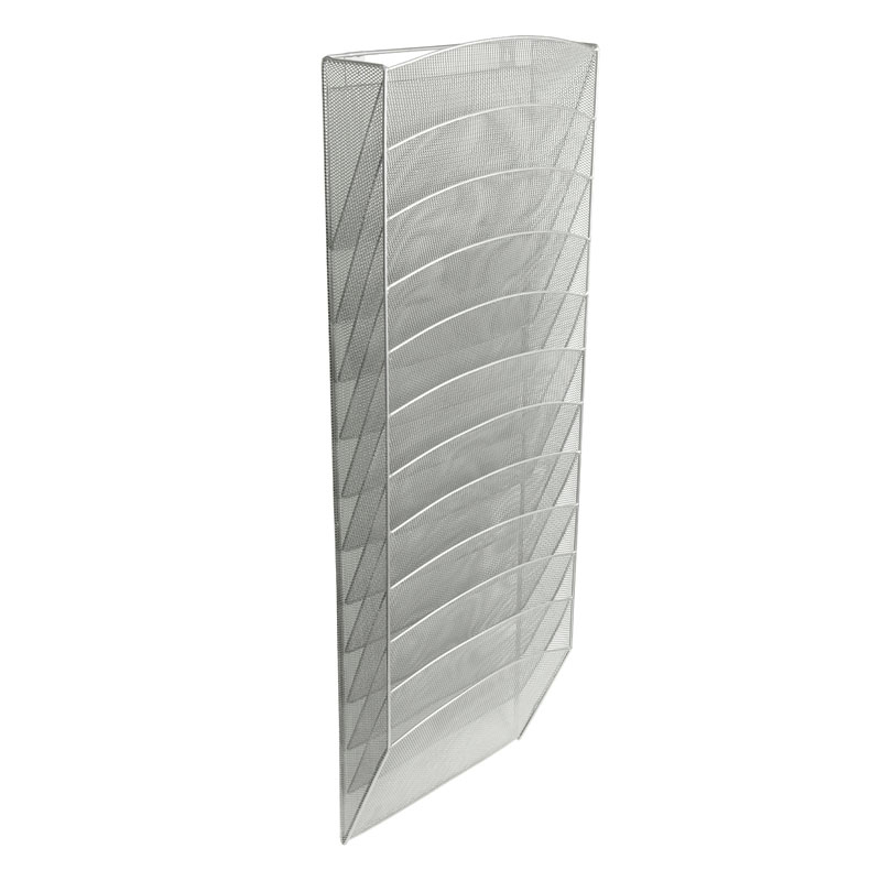 Mesh Wall Pockets - Silver