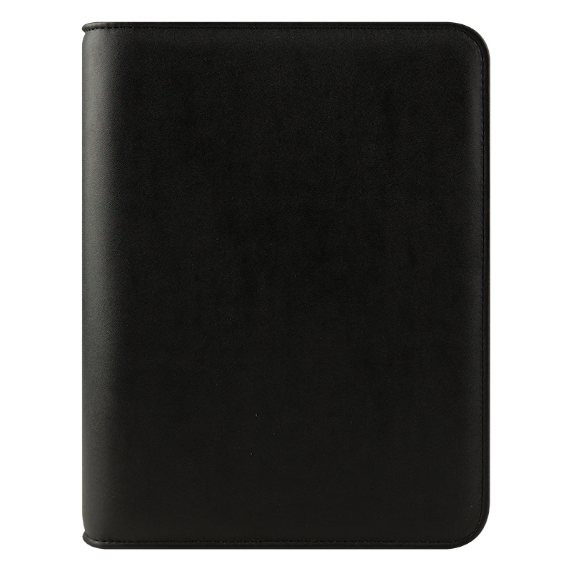 Classic FC Basics Simulated Leather Open Binder - Black