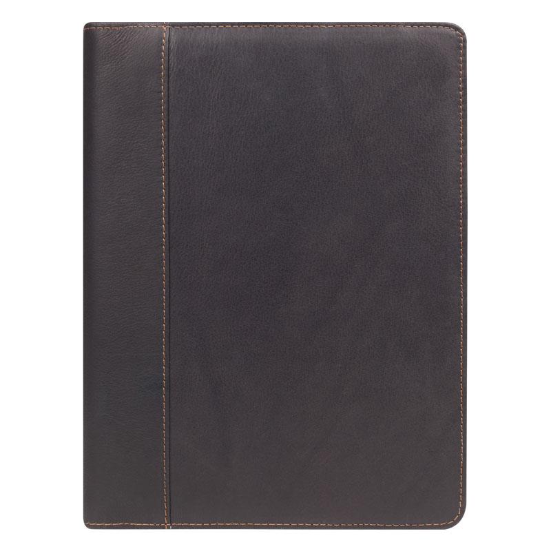 Classic Slim Breckenridge Open Wire-bound Cover - Brown