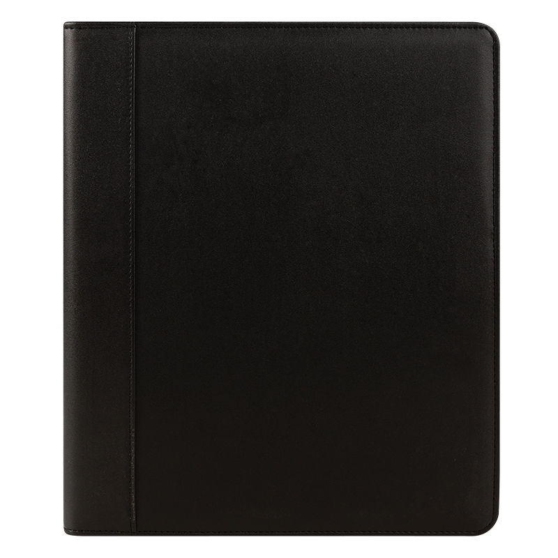 Monarch FC Basics Simulated Leather Open Wire-bound Cover - Black