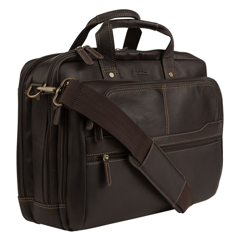 Breckenridge Laptop Bag - Brown