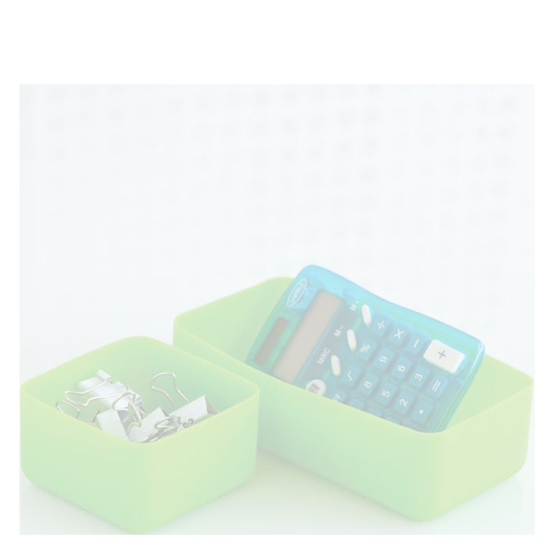 Squish Drawer Stores Set of 2 - Green