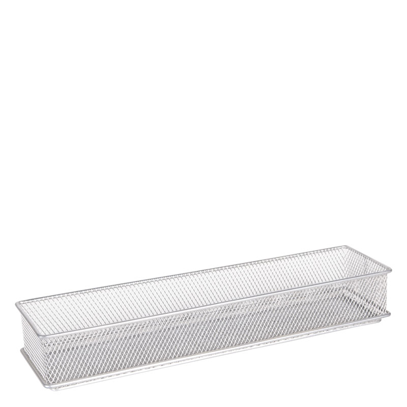 Mesh Drawer Store 3x12 - Silver