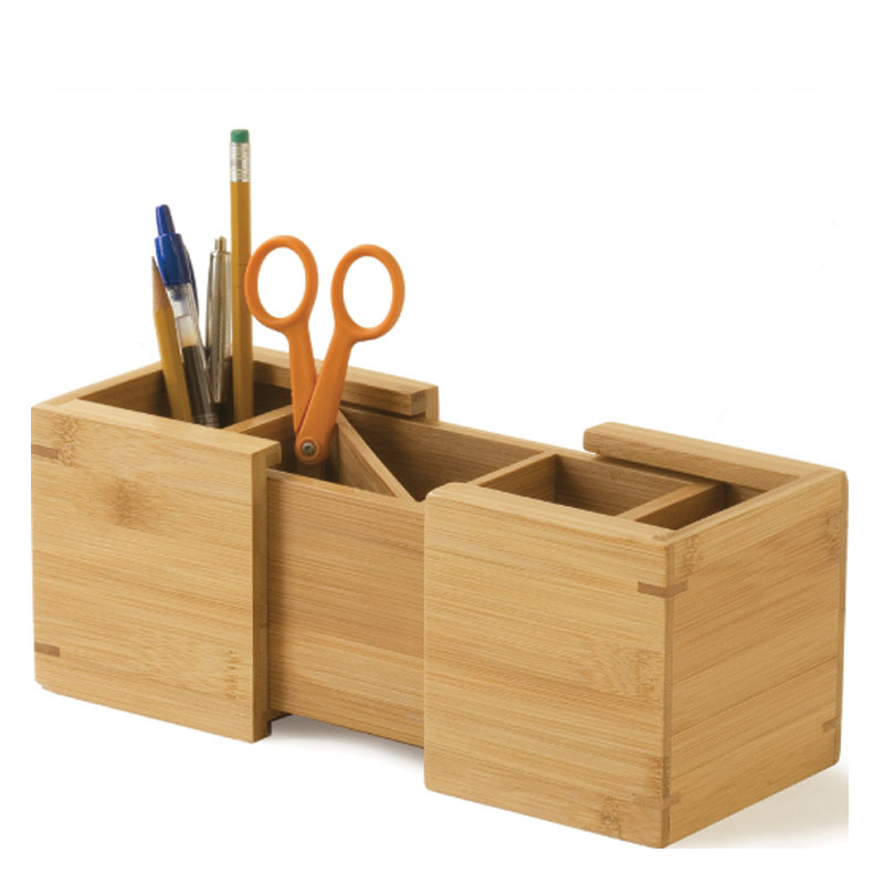 Expandable Pencil Holder - Bamboo