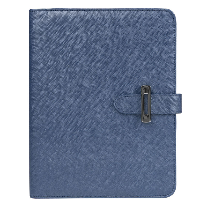Classic Slim Lucca Wire-bound Cover - Blue