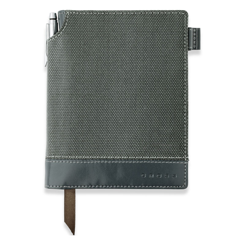 Textured Journal w/ Pen Small by Cross - Grey
