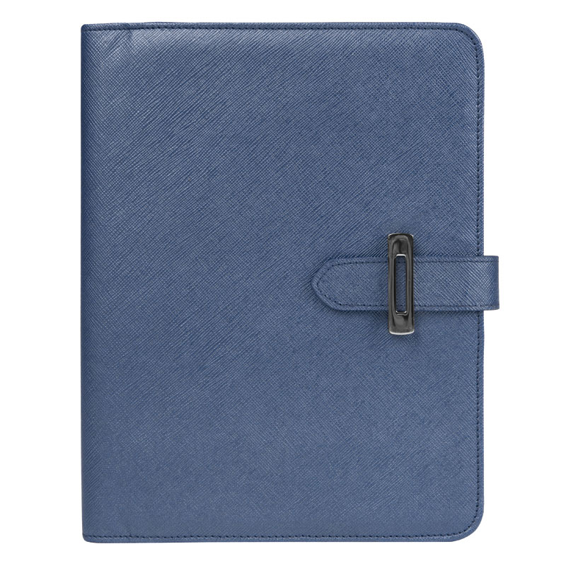 Classic Wide Lucca Wire-bound Cover - Blue