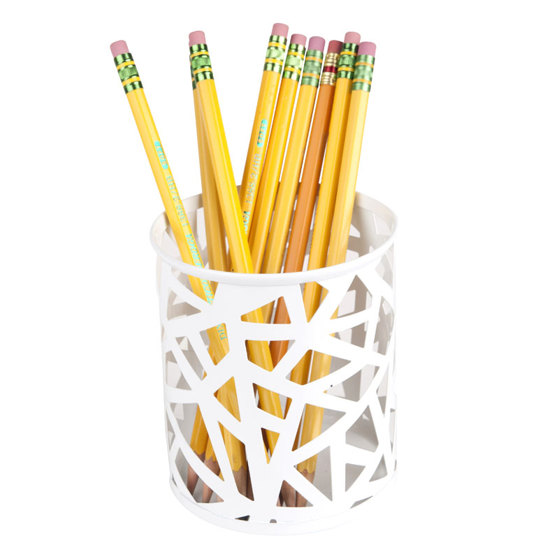 Network Pencil Cup - White