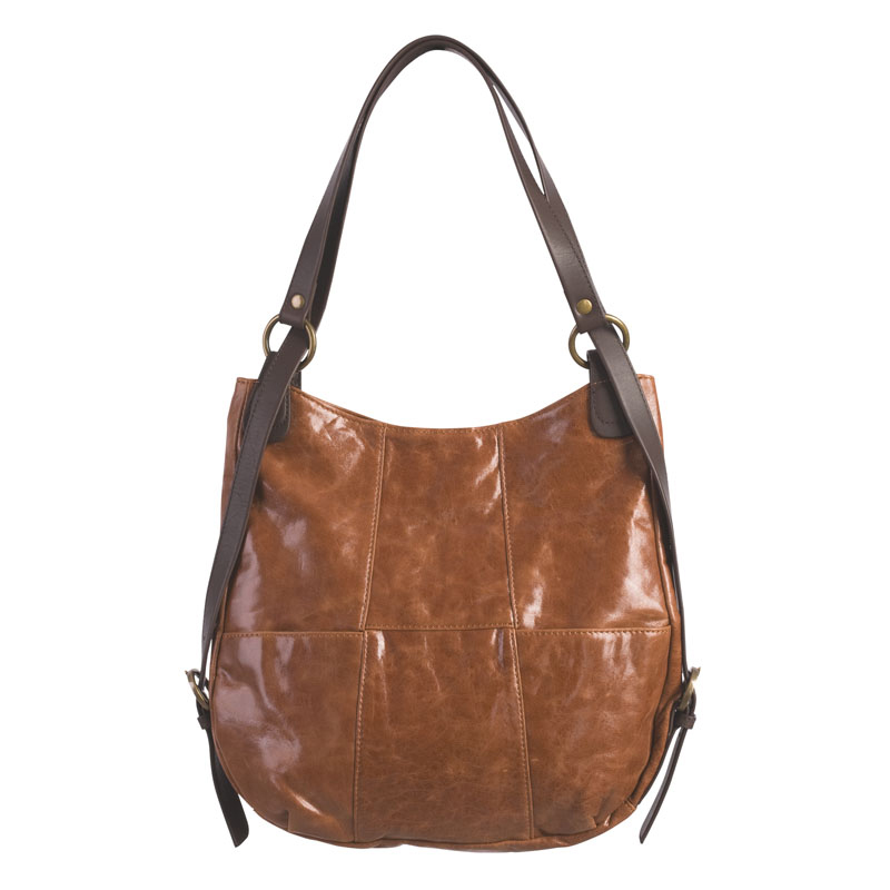 Charlie Backpack Purse - Brown