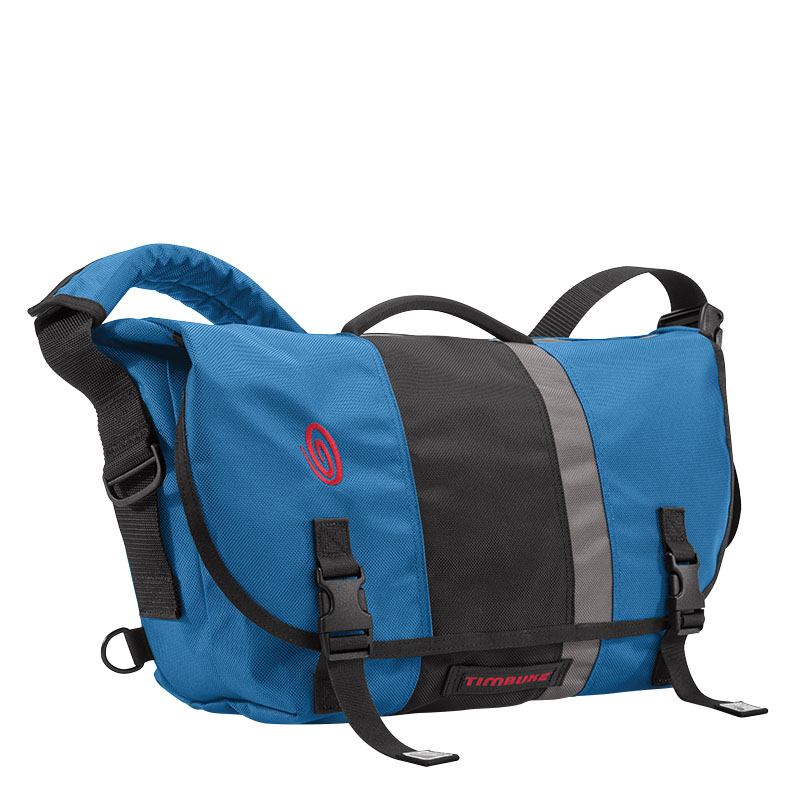 D-Lux Messenger Bag M – Blue/Black/Gunmetal
