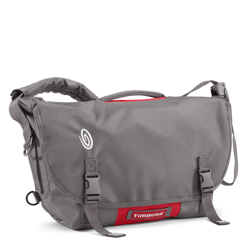 D-Lux Messenger M - Gunmetal/Rev Red