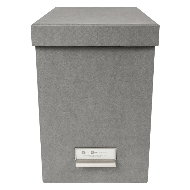 John Classic Hanging Filebox - Grey