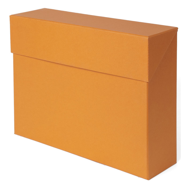 Lovisa File Box w/ 12 file - Orange