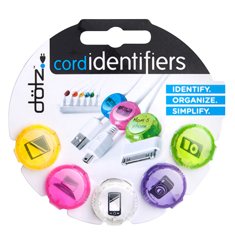 Cord Identifiers 5 ct. - Pastels