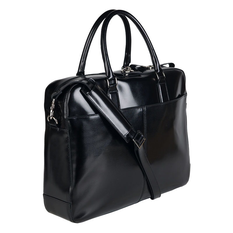 Park Avenue Laptop Tote - Black