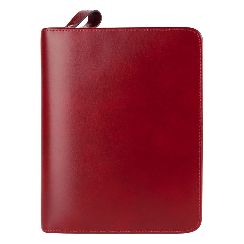 Compact Park Avenue Binder - Red