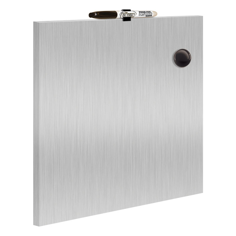 Magnetic Galvanized Dry Erase Board 14 x 14