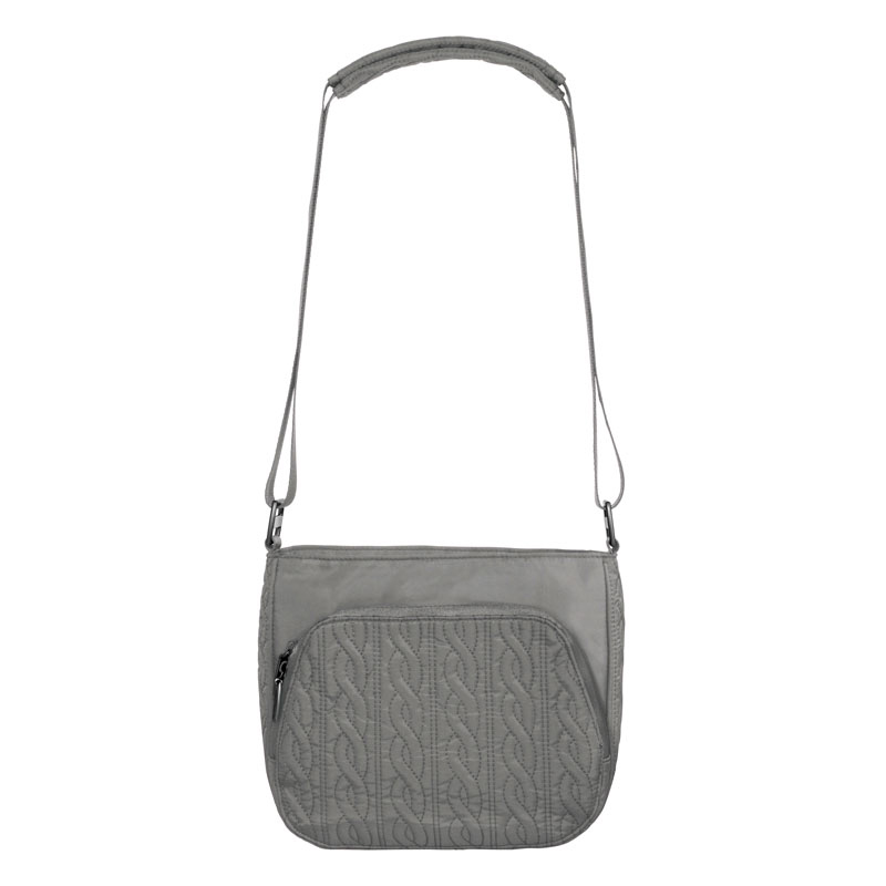 Allure Crossbody - Pewter