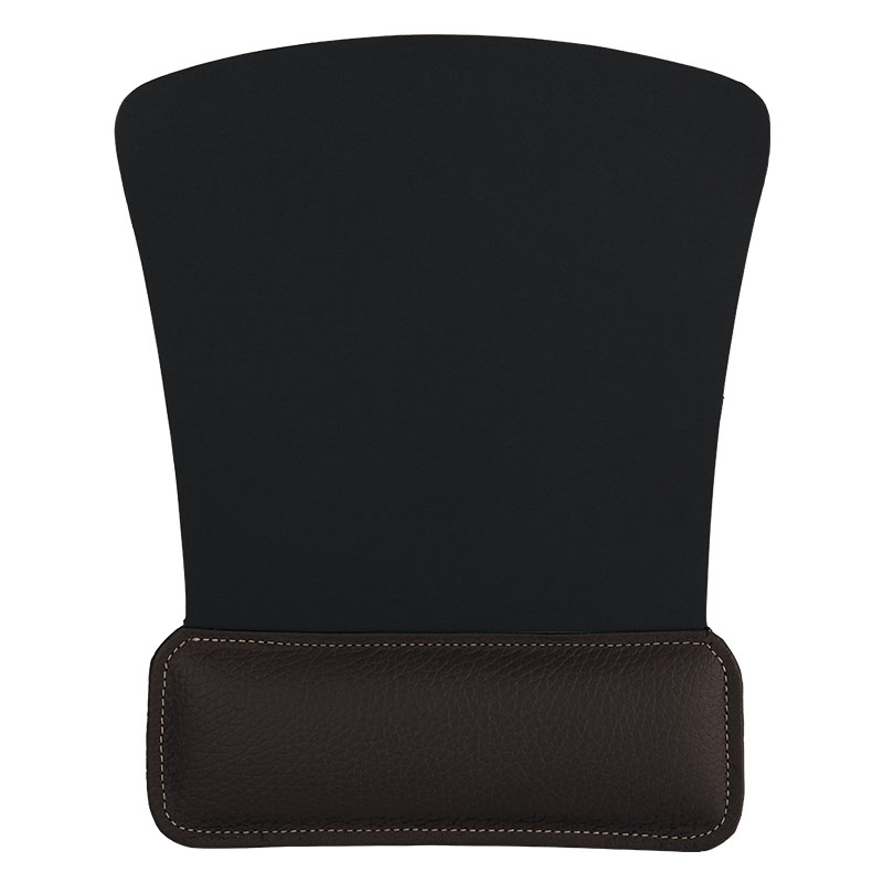Claire Leather Mouse Pad - Brown