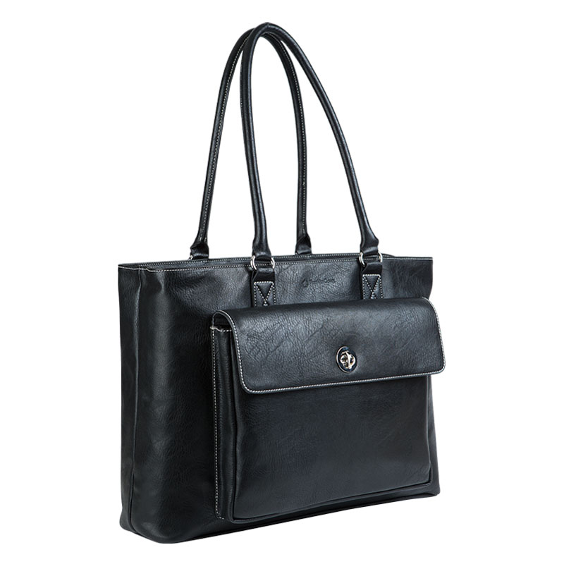Bree Laptop Tote - Black